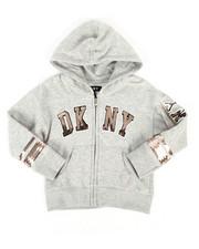 Girls - DKNY Sequin Hoodie (2T-4T)-2263098