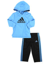 Adidas - 2 Piece Hooded Top & Pants Set (Infant)-2262917