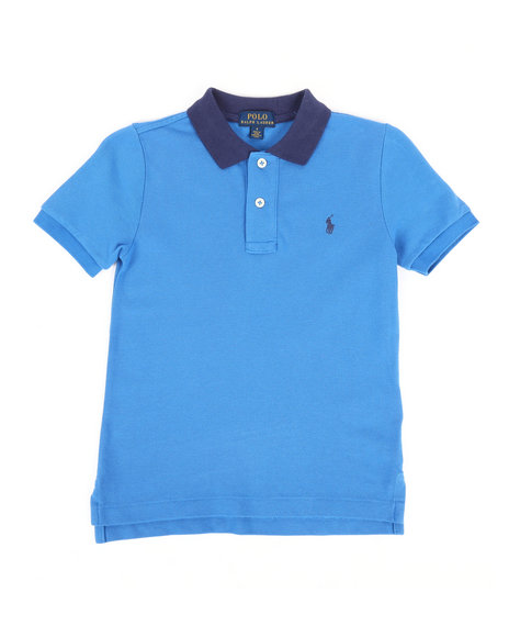 Polo Ralph Lauren - Cotton Mesh Polo Shirt (4-7)