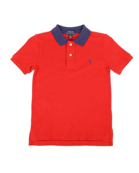 Polo Ralph Lauren - Cotton Mesh Polo Shirt (4-7)