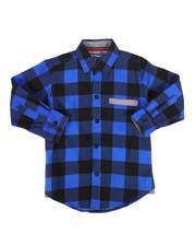 Tops - Long Sleeve Woven Shirt (4-7)-2261328
