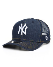 New Era - 9Fifty Denim Stitched Duo NY Yankees Trucker Hat-2259021