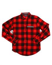 Tops - Long Sleeve Woven Shirt-2261347