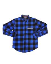 Tops - Long Sleeve Woven Shirt (8-20)-2261333