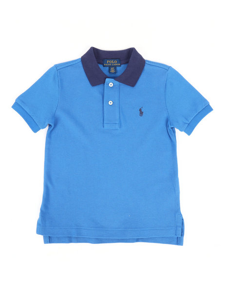 Polo Ralph Lauren - Cotton Mesh Polo Shirt (2T-4T)