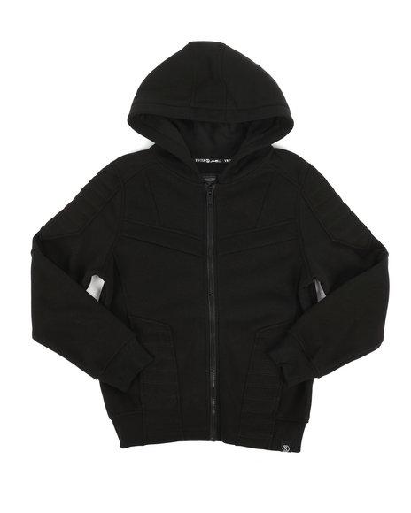 SWITCH - Quilted Fleece Full Zip Hoodie (8-20)