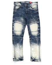 Jeans - Embossed Denim Jeans (8-20)-2263933