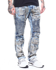 Jeans & Pants - DISTRESSED VINTAGE MOTO JEAN-2264450