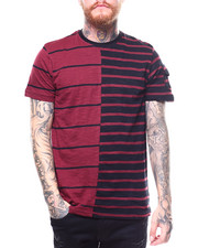 Shirts - STRIPE COLOR BLOCK TEE-2264977
