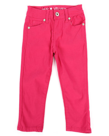 La Galleria - Hyperstretch Twill Pants (2T-4T)