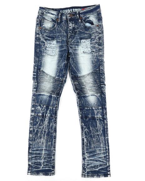 Arcade Styles - Moto Rip & Repair Jeans (8-20)