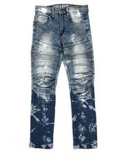 Jeans - Painted Moto Denim Jeans (8-20)-2265336