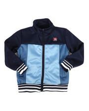 Activewear - Color Block Nylon Track Jacket (4-7)-2264727