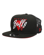 New Era - 9Fifty High Crown Fresh Front Chicago Bulls Trucker Hat-2259015