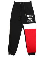 Bottoms - Shirred Fleece Joggers (8-20)-2265396