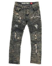 Jeans - Moto Vintage Denim Jeans 8-20)-2265371