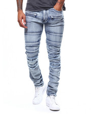 Jeans & Pants - DENIM PANT WITH RIPS-2265789