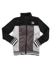 Parish - Color Block Nylon Track Jacket (8-20)-2264754