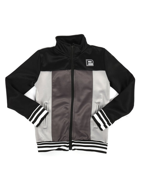 Parish - Color Block Nylon Track Jacket (8-20)