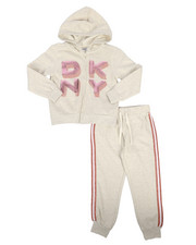 Girls - 2 Piece Hoodie & Jogger Set (4-6X)-2263979