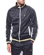 Track Jackets - GREEK KEY WARM UP JACKET-2265914