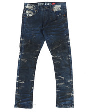 Jeans - Grease Wash Denim Jeans (8-20)-2265364