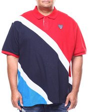 Parish - Color Block Pique Polo (B&T)-2264745