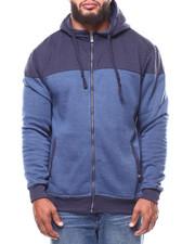 Men - 2-Tone Quilted Fleece Hoodie (B&T)-2265198