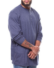 Lee - L/S Super Soft Henley Contrast Panel Detail (B&T)-2266105