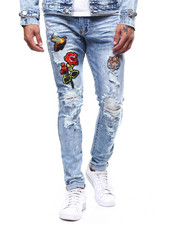 Buyers Picks - Embroidered Patch and Paint Splatter Jean-2266083