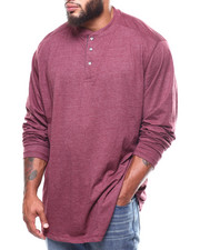 Lee - L/S Super Soft Henley Contrast Panel Detail (B&T)-2266101