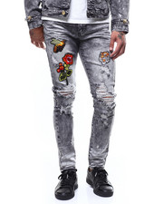 Buyers Picks - Embroidered Patch and Paint Splatter Jean-2266119