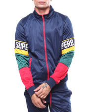 Track Jackets - COLORBLOCK TRACK JACKET-2266397