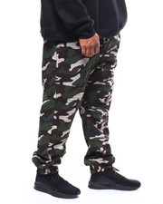 Pants - Twill Quilted Knee / Back Yoke Jogger (B&T)-2266230