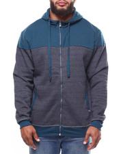 Men - 2-Tone Quilted Fleece Hoodie (B&T)-2265203