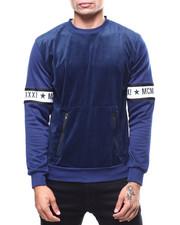 Sweatshirts & Sweaters - CLAYTON VELOUR CREW-2266274