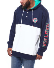Nautica - Popover Embroidered French Terry Hoodie (B&T)-2266161