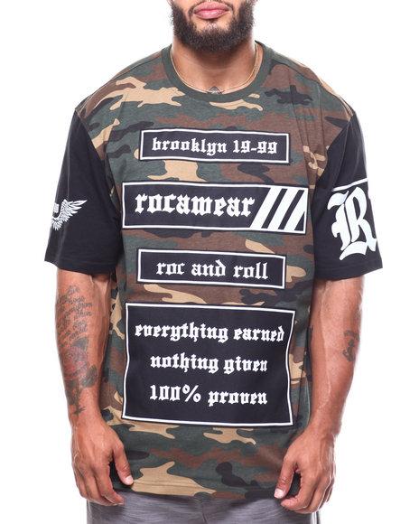 Rocawear - S/S Roc Rolla Crew Tee (B&T)