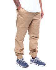 Big & Tall - Twill Quilted Knee / Back Yoke Jogger (B&T)-2266222