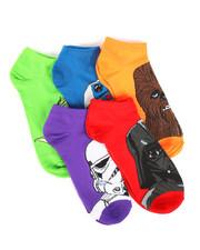 Socks - 5 Pack Star Wars No Show Socks-2266061