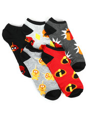 Accessories - 5 Pack Incredibles 2 No Show Socks-2266059