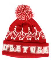 OBEY - Bird Pom Pom Beanie-2266433