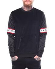 Sweatshirts & Sweaters - CLAYTON VELOUR CREW-2267160