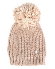 Hats - Iceland Yarn Hat w/Contrast Pom-2266416
