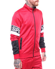 Track Jackets - SUPERIOR COLOR PANEL TRACK JACKET-2265908