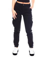 Women - Twill Cargo Jogger Pant-2266757