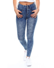 Almost Famous - 3 Bottom Bombshell Hi Waist Jean-2266458