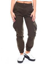 Women - Twill Cargo Jogger Pant-2266776
