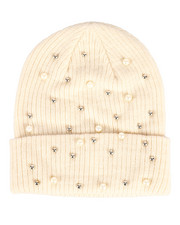 Hats - Ribbed Knit Cuff Hat-2266415