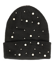 Hats - Ribbed Knit Cuff Hat-2266413